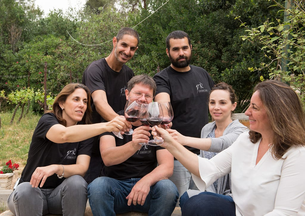 Soreq Winery staff Inbal Cabiri