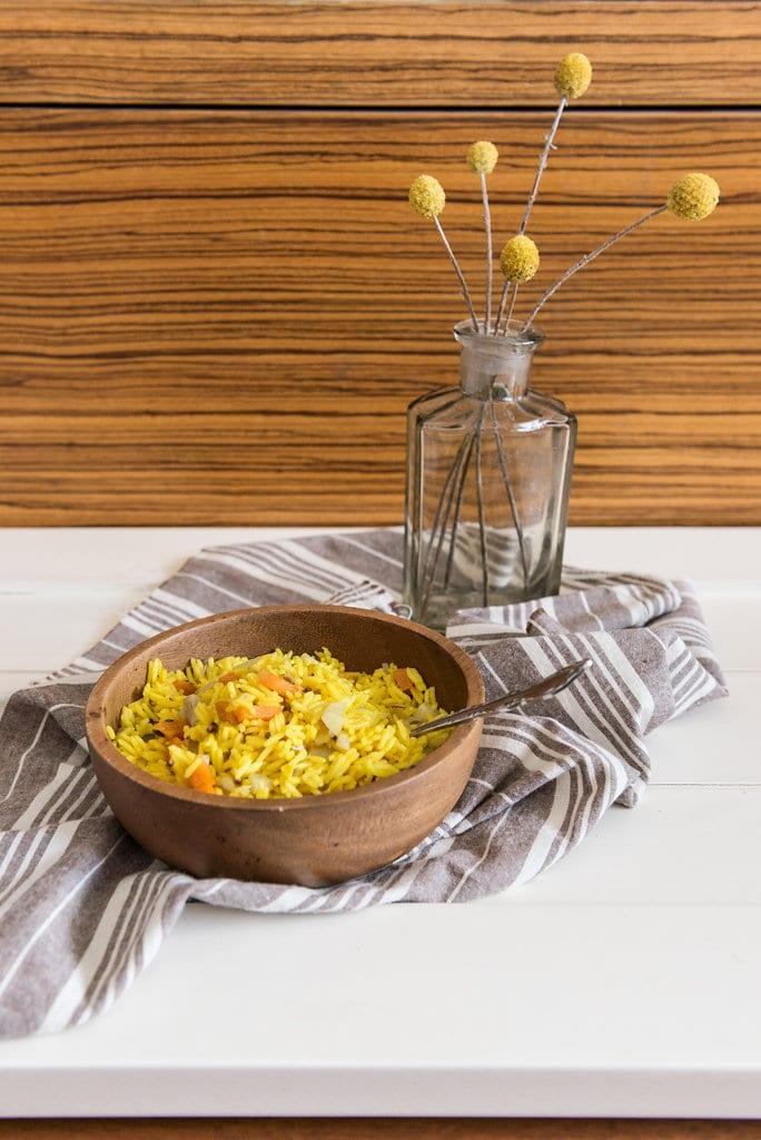 Ayurvedic rice Inbal Cabiri