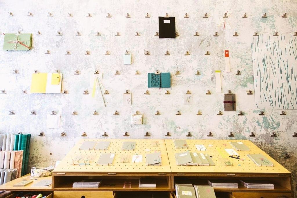 Paper store Prague Inbal Cabiri