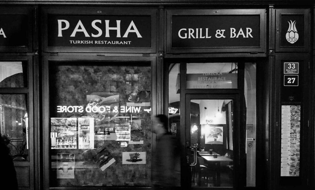 Pasha Restaurant Prague Inbal Cabiri