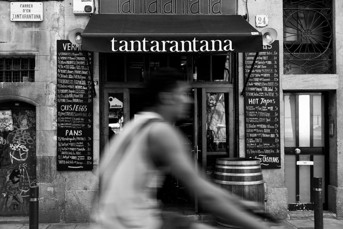 Restaurant Street Barcelona Inbal Cabiri