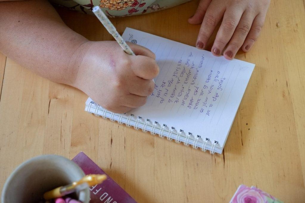 Noa Stirling writing Inbal Cabiri