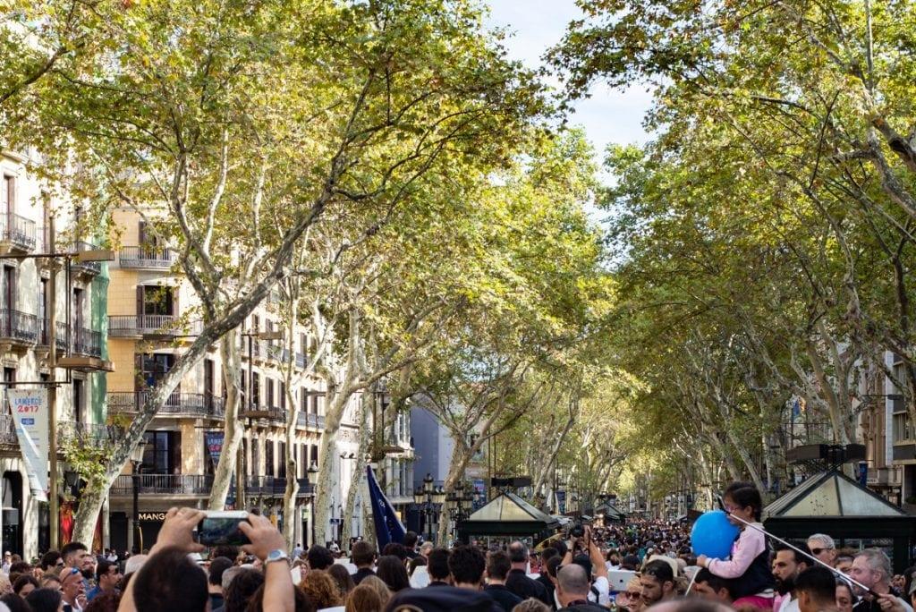 Ramblas Barcelona Inbal Cabiri