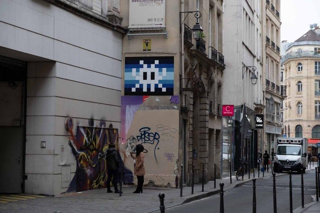 invader פריז ענבל כבירי