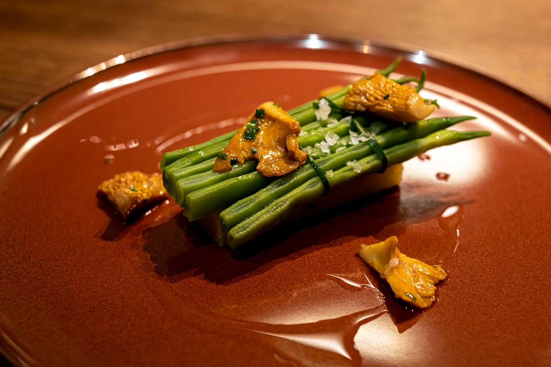 מסעדת חבייר פליסייה סלואו פוד בברצלונה ענבל כבירי תפוא ושעועית