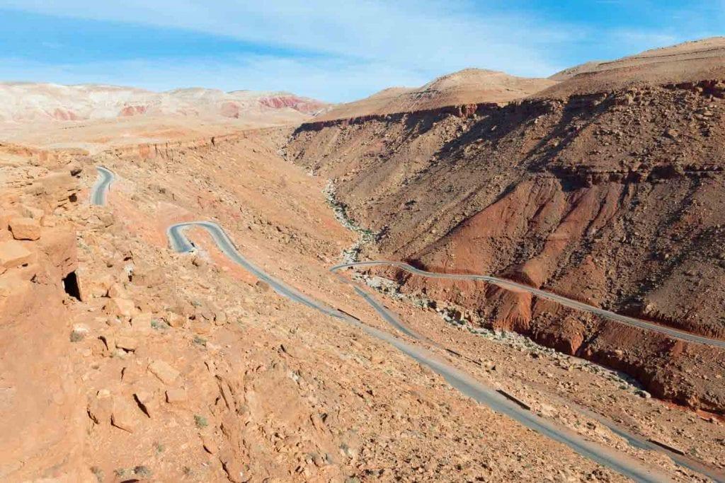 דרך מתפתלת מרוקו ענבל כבירי
