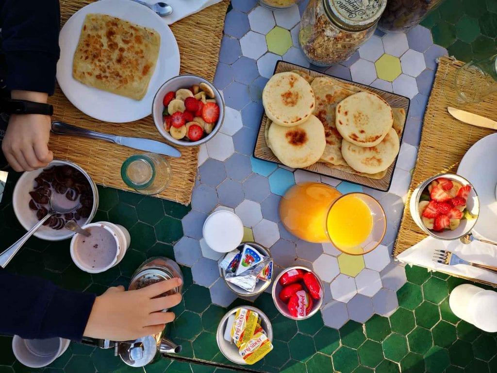 ארוחת בוקר מרקש ענבל כבירי