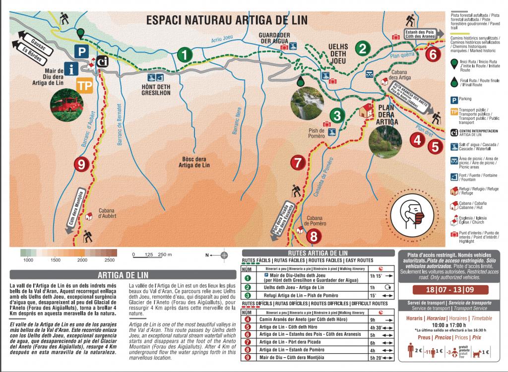 Artiga de Lin // Uelhs deth Joèu map