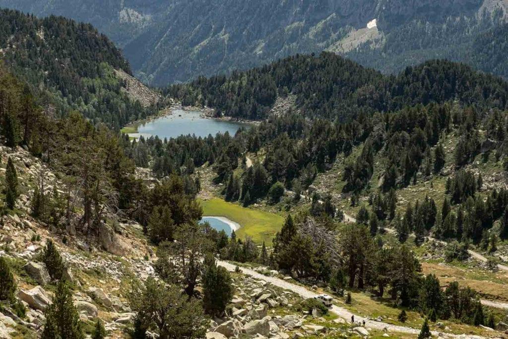 שמורת אייגווסטורטס ואגם סנט מאוריצי פירנאים ספרד ענבל כבירי